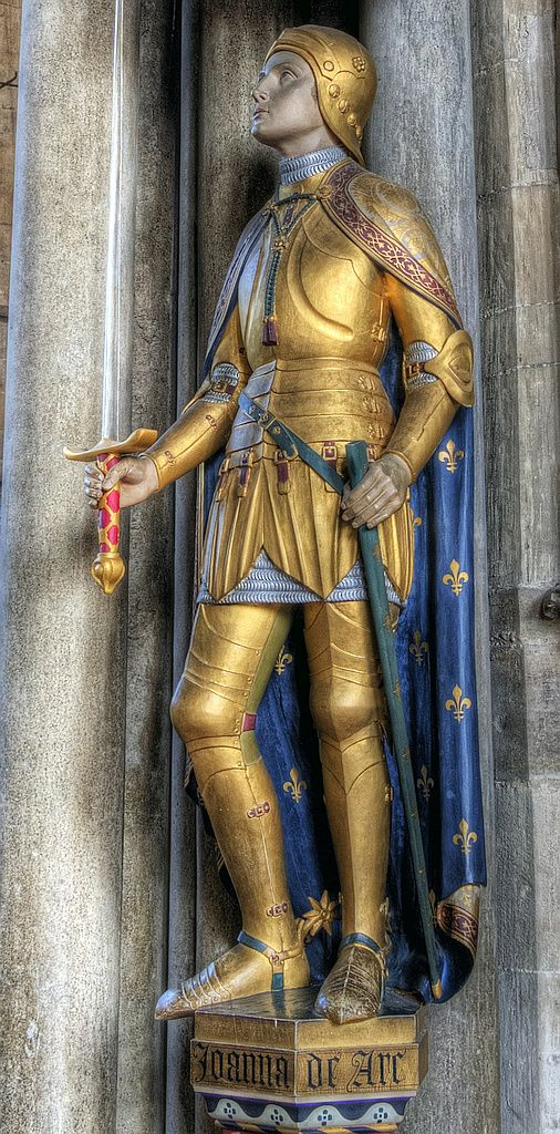 Joan of Arc in Winchester Cathedral